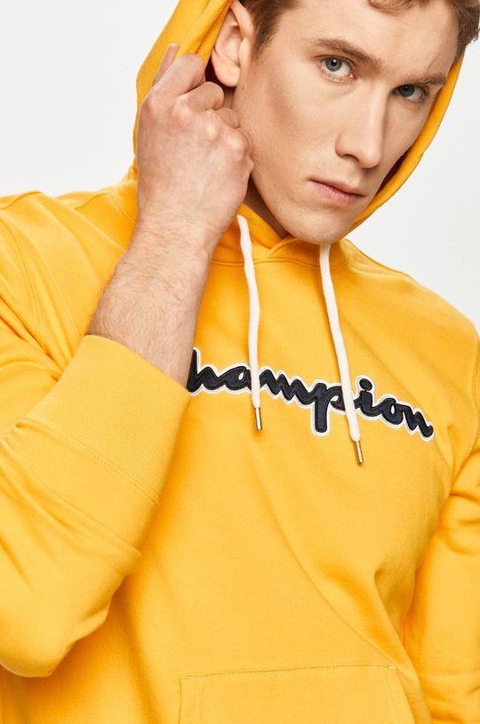 žltá Champion - Bavlnená mikina