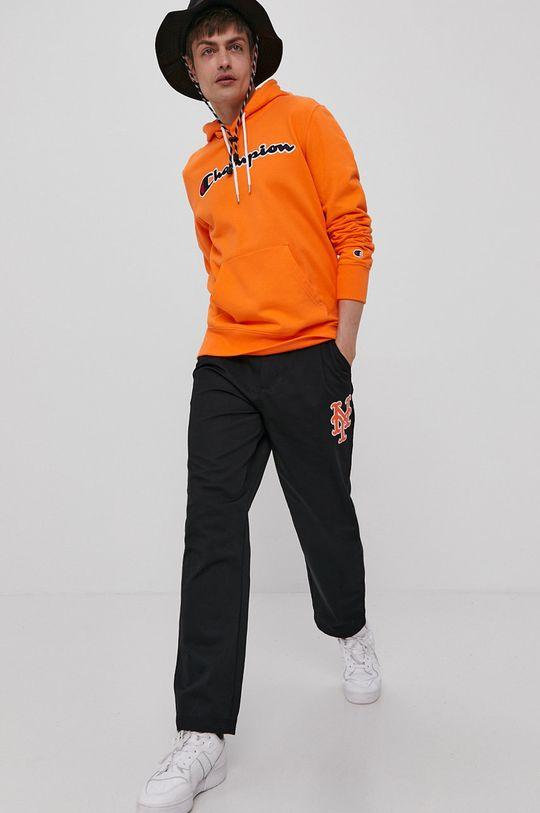 Champion - Bluza bawełniana pomarańczowy