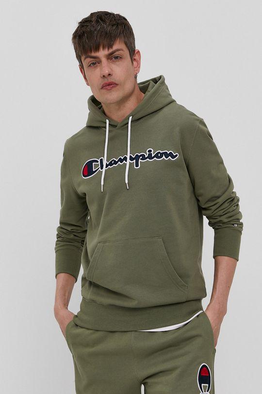 oliwkowy Champion - Bluza bawełniana Męski