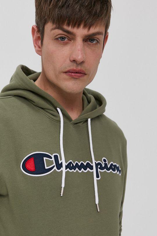 oliwkowy Champion - Bluza bawełniana