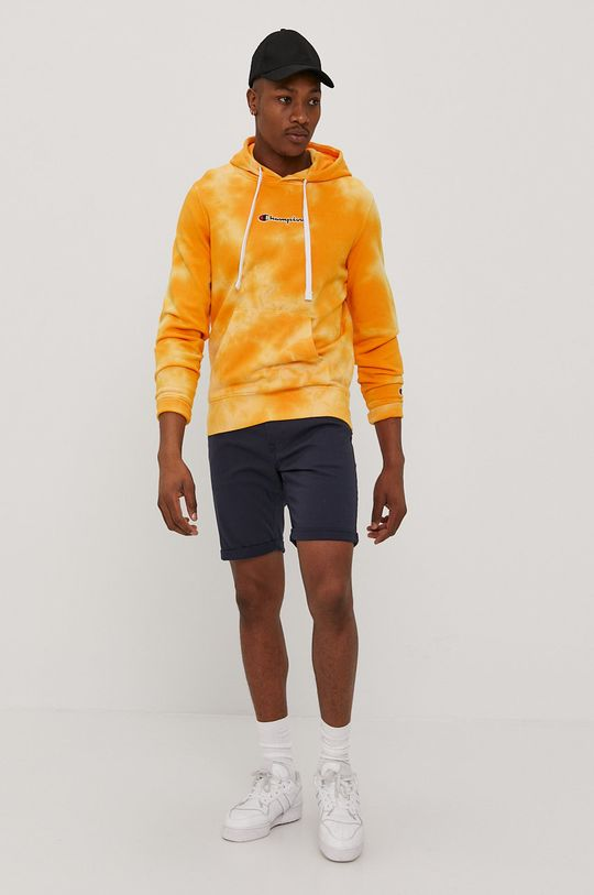 Champion - Bluza bawełniana żółty