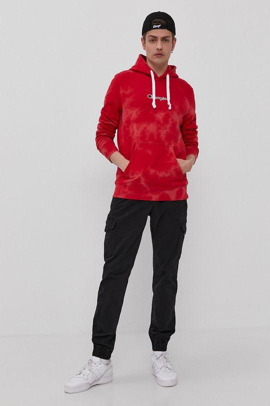 Champion - Bluza bawełniana czerwony
