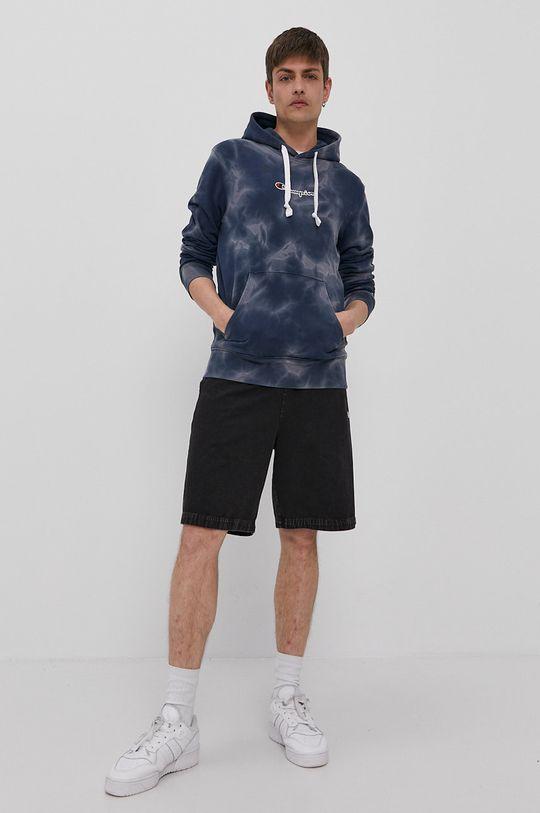 Champion - Bluza bawełniana granatowy