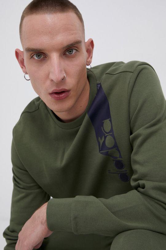 brązowa zieleń Diadora - Bluza