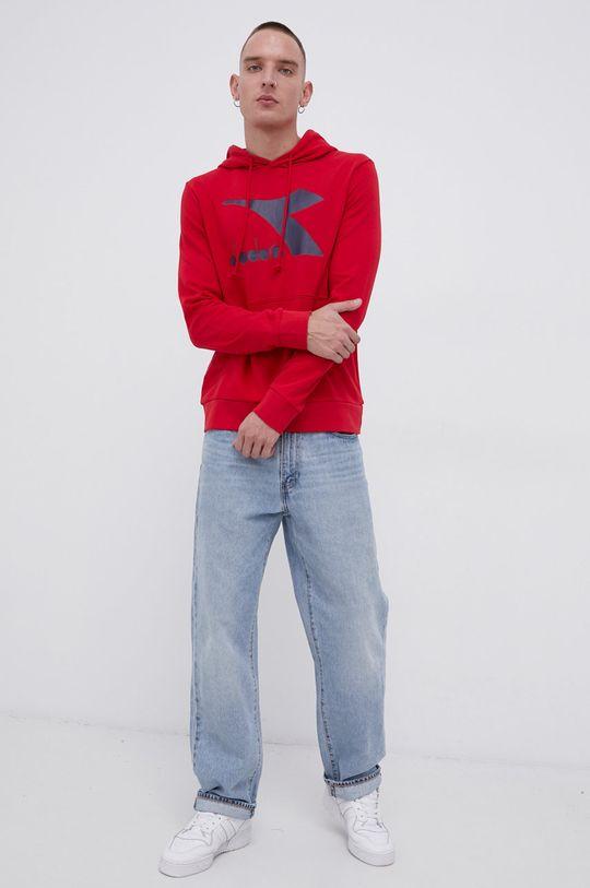 Diadora - Bluza ostry czerwony