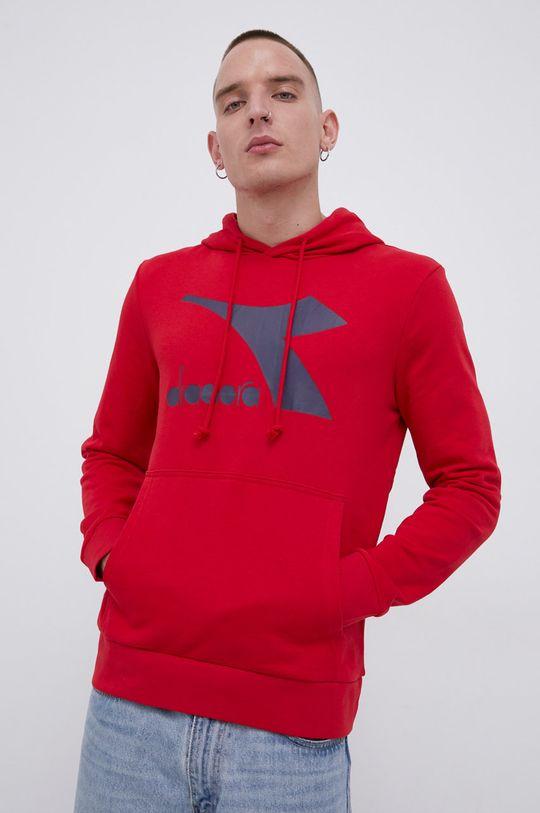 ostry czerwony Diadora - Bluza