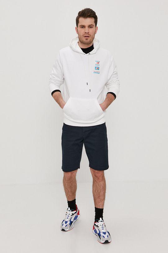 New Balance - Bluza biały
