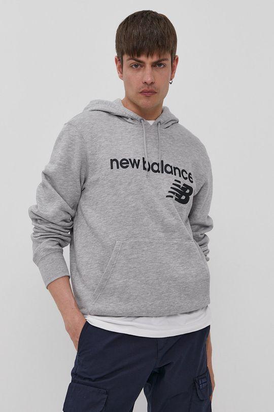 gri New Balance - Bluza De bărbați