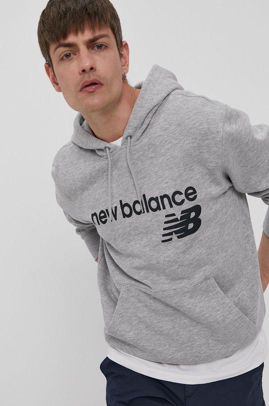 gri New Balance - Bluza