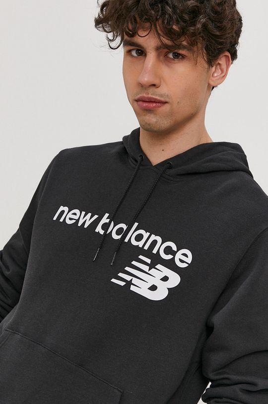 čierna New Balance - Mikina