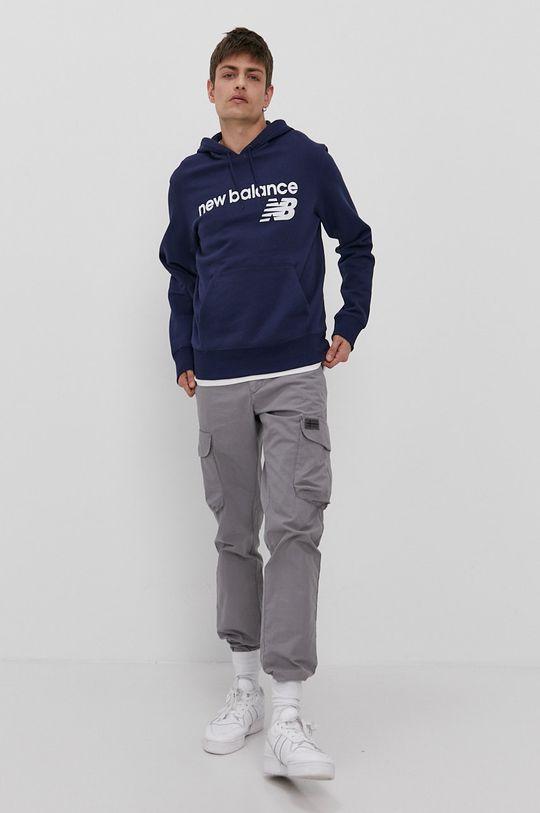 New Balance - Bluza granatowy