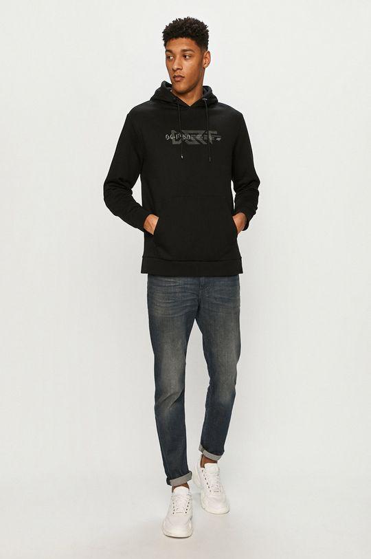 4F - Bluza negru