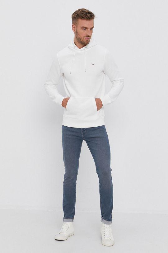 Gant - Bluza biały
