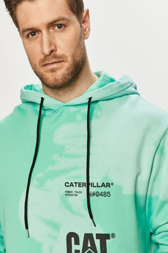 mátová Caterpillar - Bavlněná mikina
