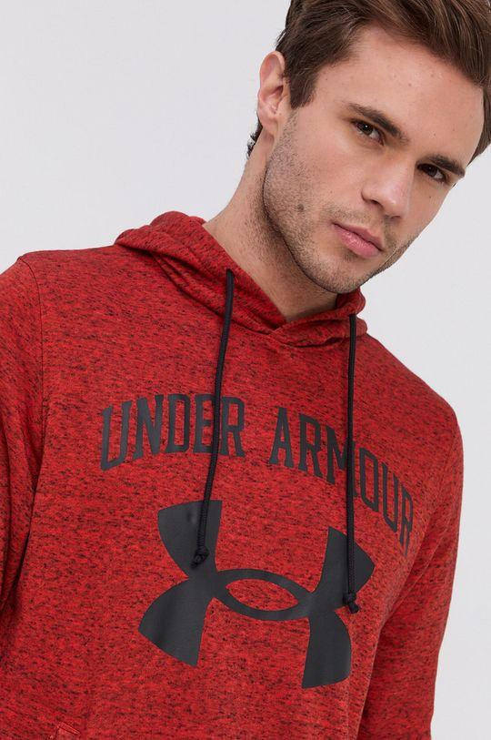 ostry czerwony Under Armour - Bluza