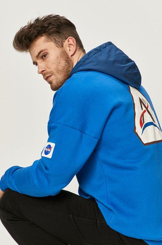niebieski adidas Performance - Bluza Męski