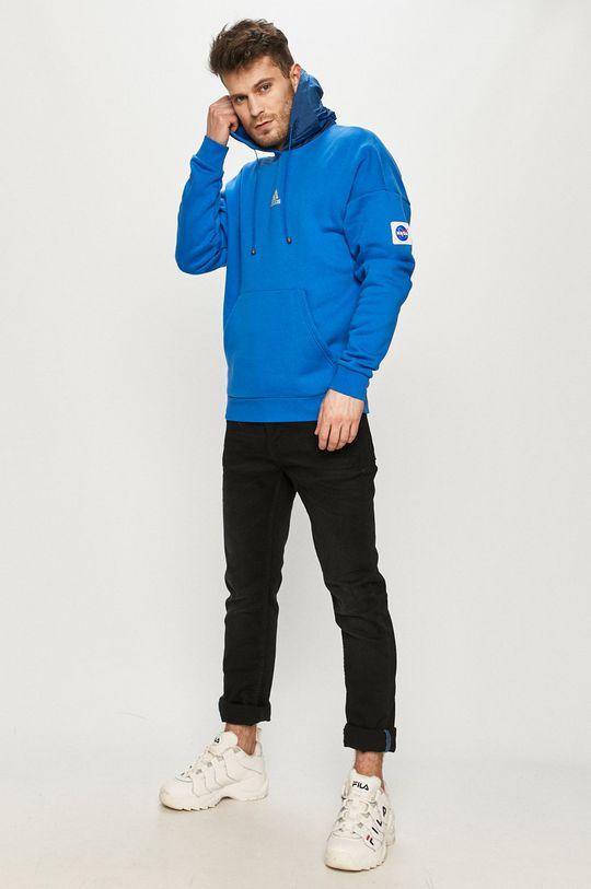 adidas Performance - Bluza niebieski