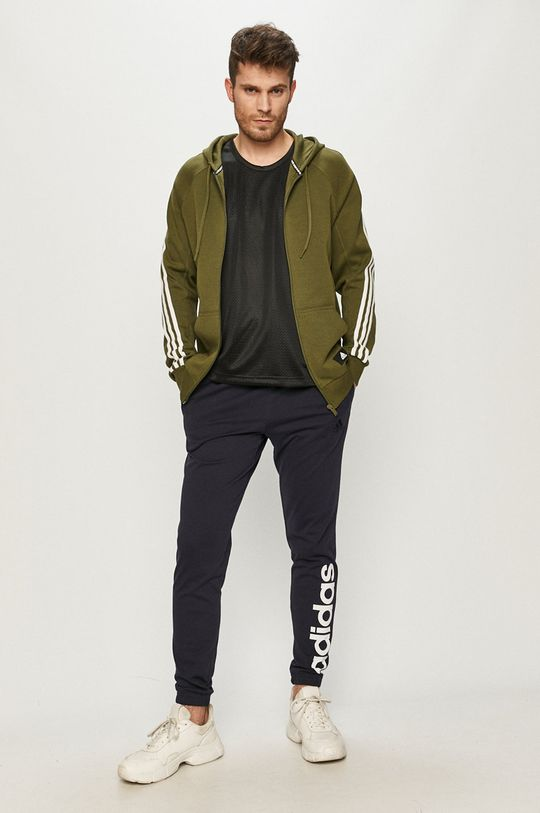 adidas Performance - Bluza oliwkowy