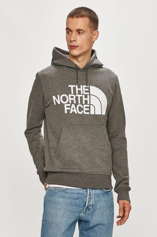 světle šedá The North Face - Mikina Pánský