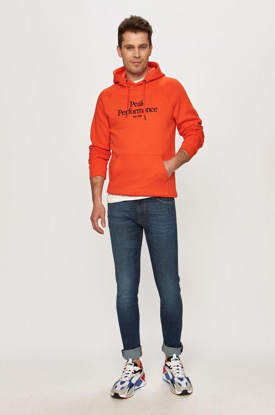 Peak Performance - Bluza pomarańczowy