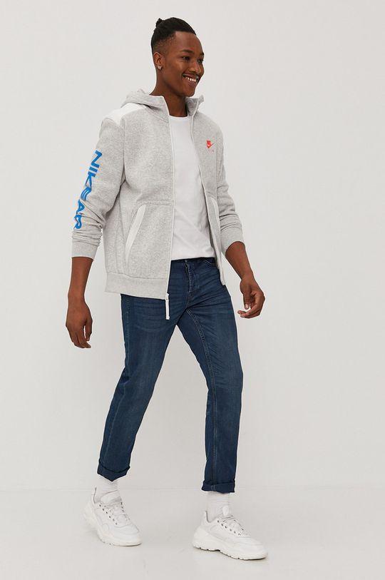 Nike Sportswear - Mikina svetlosivá