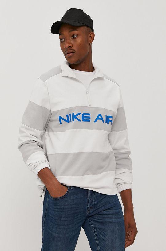biały Nike Sportswear - Bluza bawełniana Męski