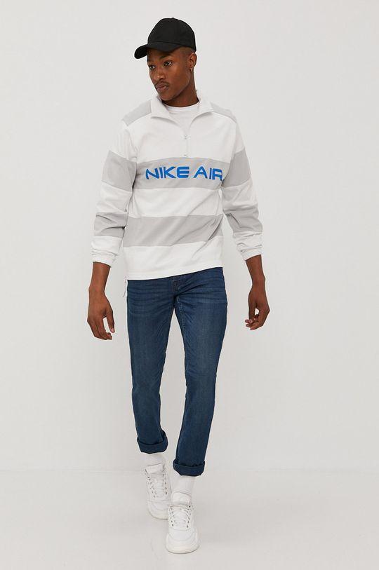 Nike Sportswear - Bluza bawełniana biały
