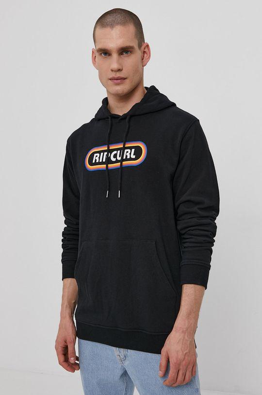 czarny Rip Curl - Bluza Męski
