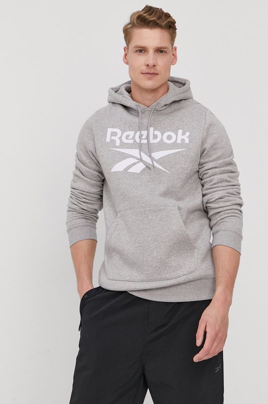 gri deschis Reebok - Bluza De bărbați