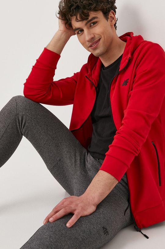 4F - Bluza czerwony