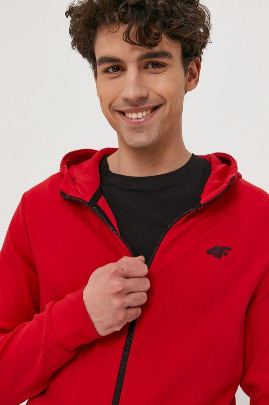 czerwony 4F - Bluza