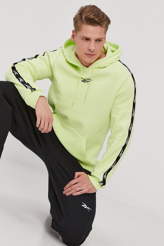 zielony Reebok - Bluza Męski