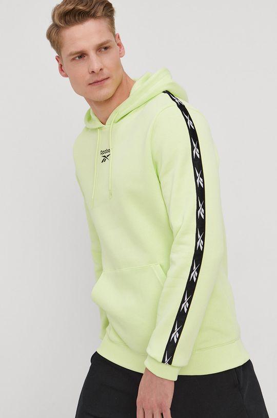 Reebok - Bluza zielony