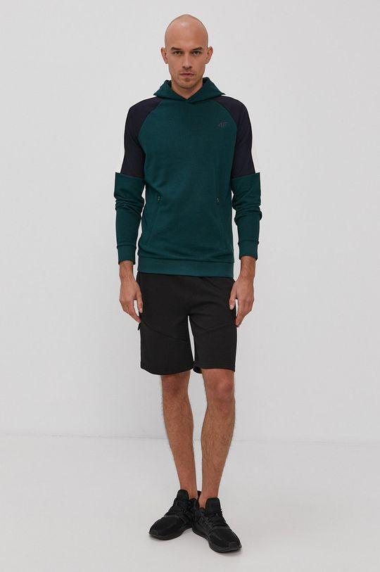 4F - Bluza zielony