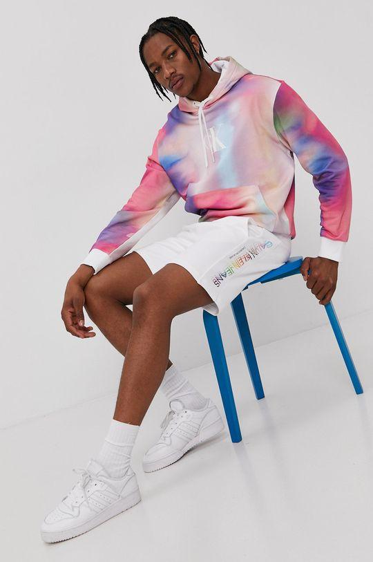 multicolor Calvin Klein Jeans - Hanorac de bumbac De bărbați