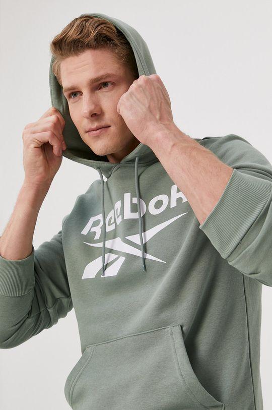 militarny Reebok - Bluza