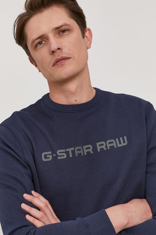 tmavomodrá G-Star Raw - Mikina