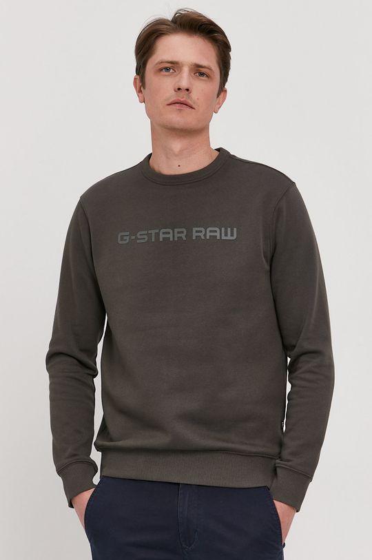 zelená G-Star Raw - Mikina Pánsky