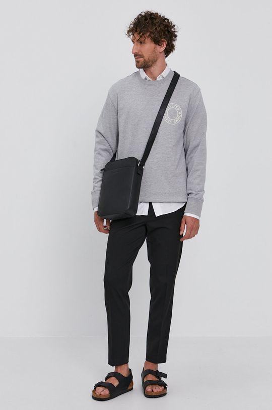 Selected - Bluza jasny szary