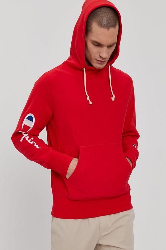 czerwony Champion - Bluza bawełniana Męski
