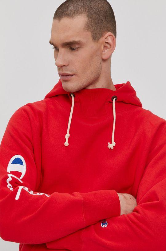 czerwony Champion - Bluza bawełniana