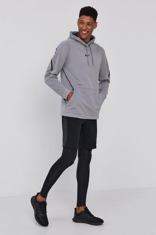 jasny szary Nike - Bluza Męski