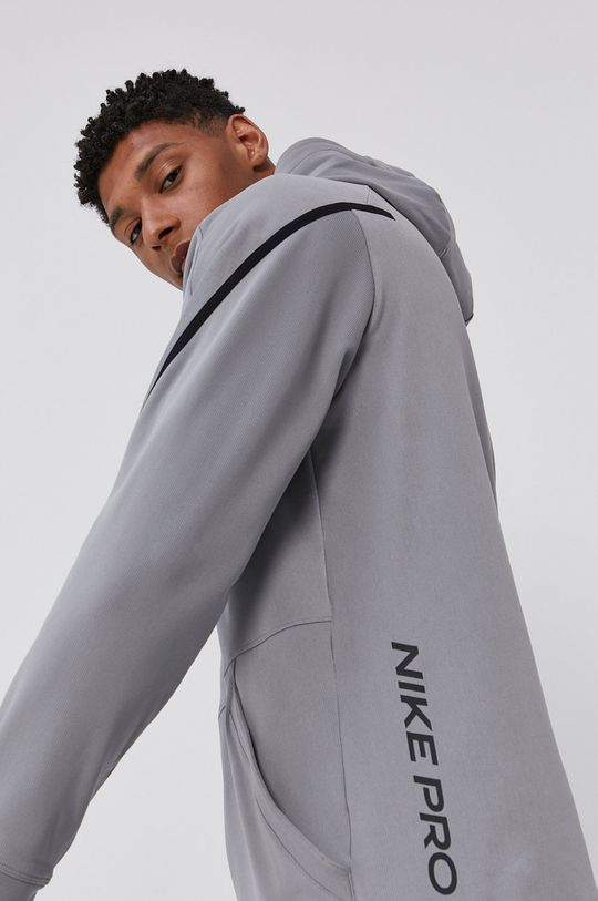 jasny szary Nike - Bluza