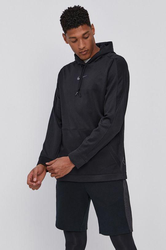 czarny Nike - Bluza Męski