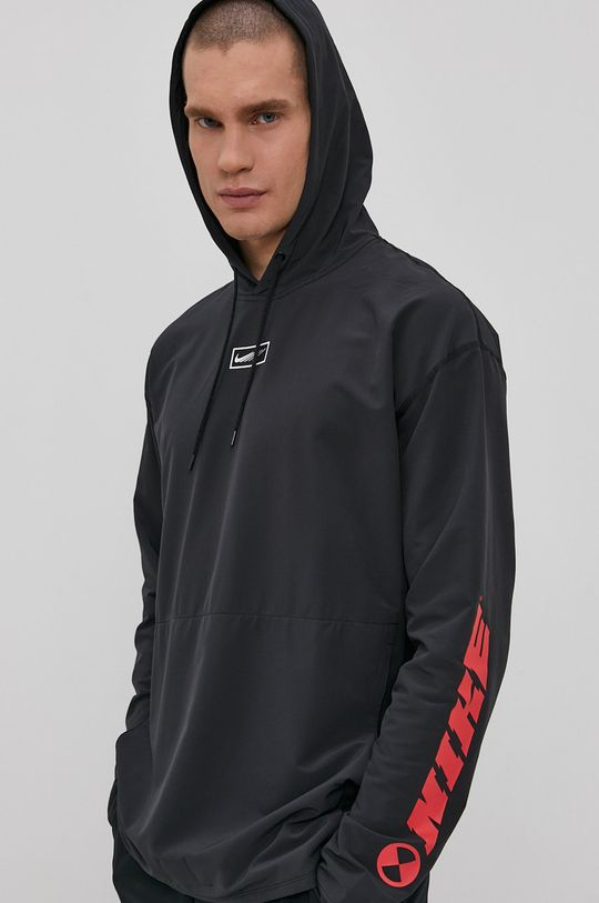 grafitowy Nike - Bluza Męski