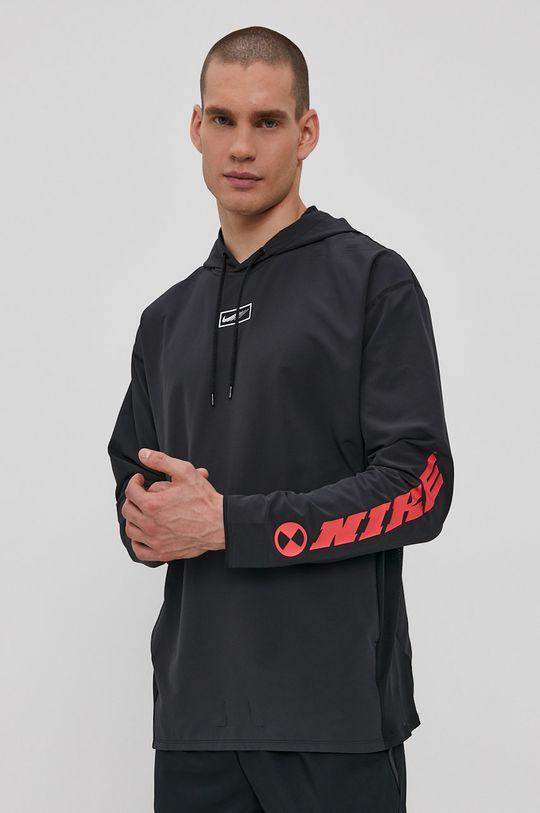 grafitowy Nike - Bluza