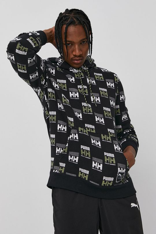 czarny Puma - Bluza bawełniana X Helly Hansen Męski