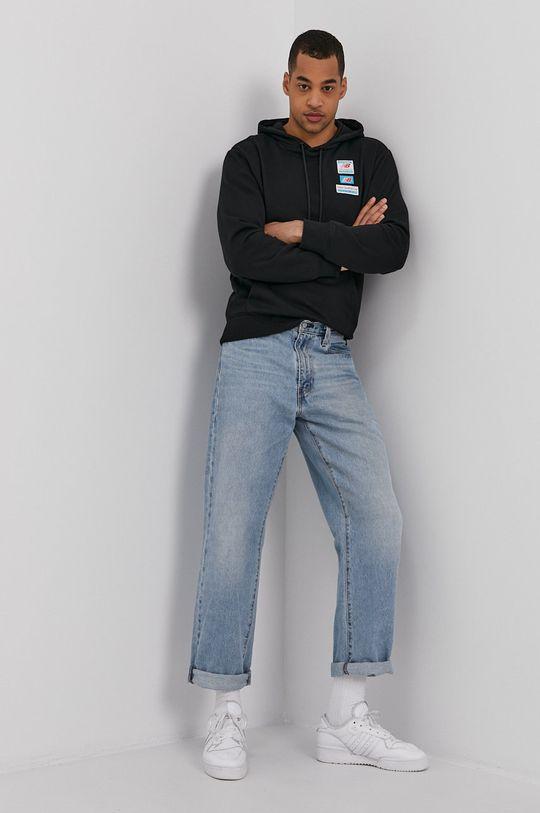 New Balance - Bluza czarny