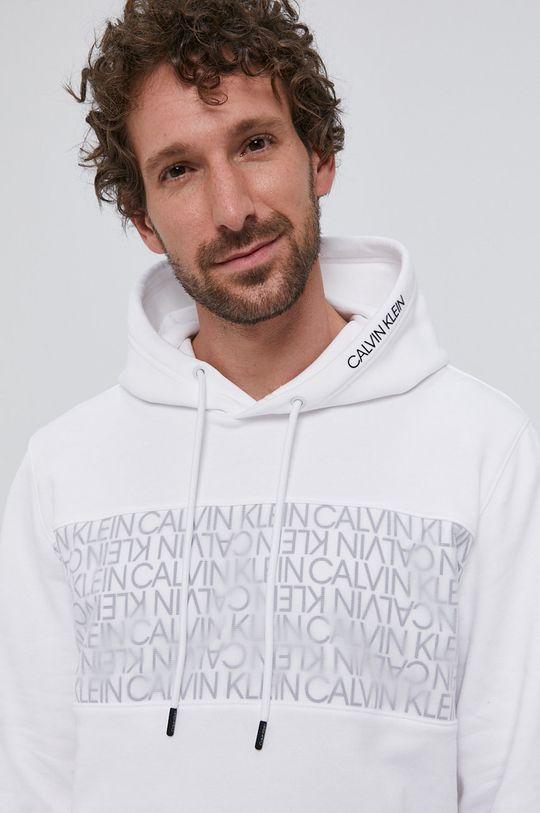 biały Calvin Klein - Bluza bawełniana