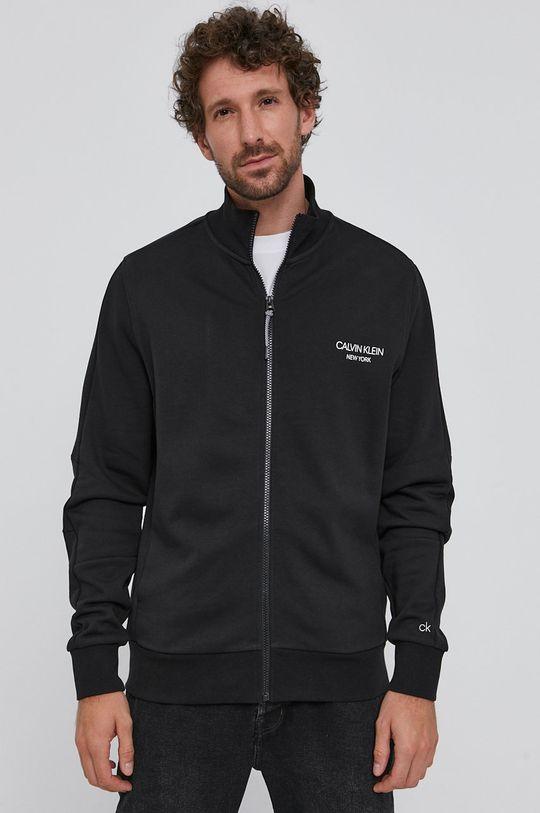 czarny Calvin Klein - Bluza bawełniana Męski